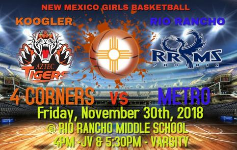 4-Corners vs Metro Game GBB The Lady Phoenix vs Lady Tigers