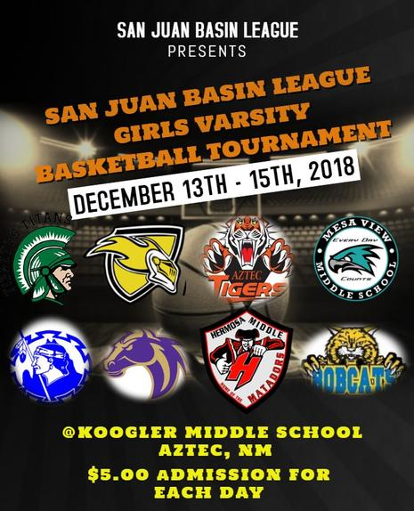 2018 SAN JUAN BASIN GIRLS BASKETBALL CHAMPIONSHIP